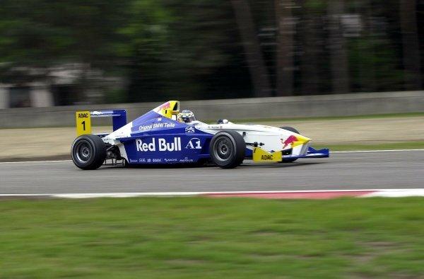 Reinhaurd Kofler (AUT) Mamerow Racing Team, Rd3 6th, Rd4 3rd.BMW Formula ADAC Championship, Rd3 & Rd4, Zolder, Belgium. 5 May 2002.press