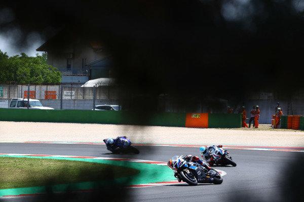 Michael van der Mark, BMW Motorrad WorldSBK Team, Tom Sykes, BMW Motorrad WorldSBK Team.