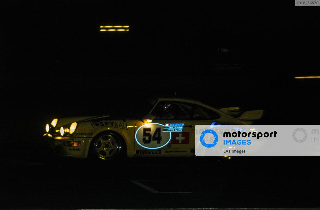 Enzo Calderari / Lilian Bryner / Renato Mastropietro, Ecurie Biennoise, Porsche 911 Carrera RSR.