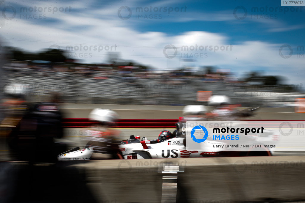 Marco Andretti, Andretti Herta with Marco & Curb-Agajanian Honda pit stop