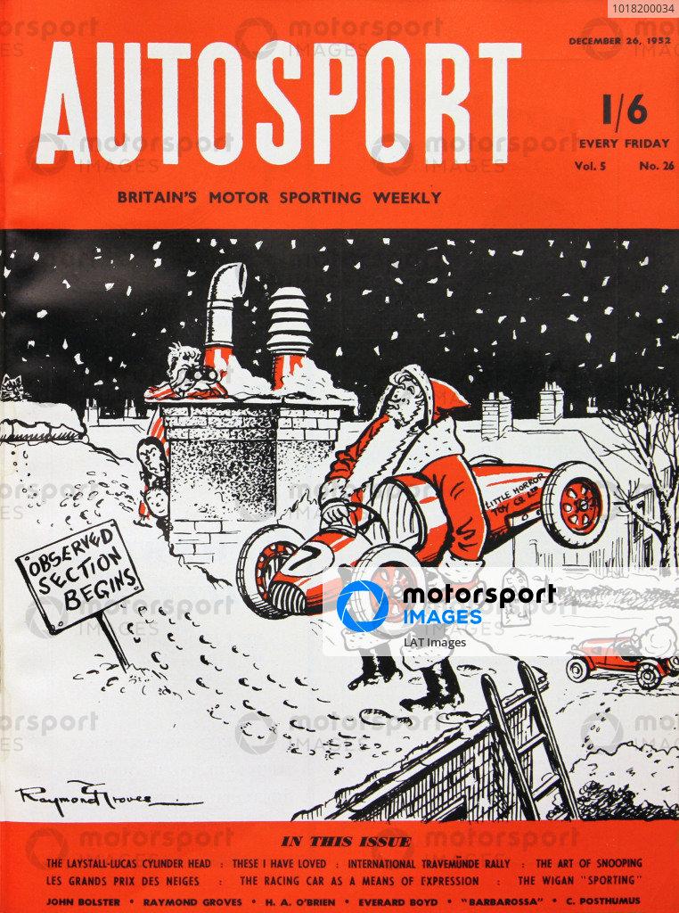 Autosport Covers 1952