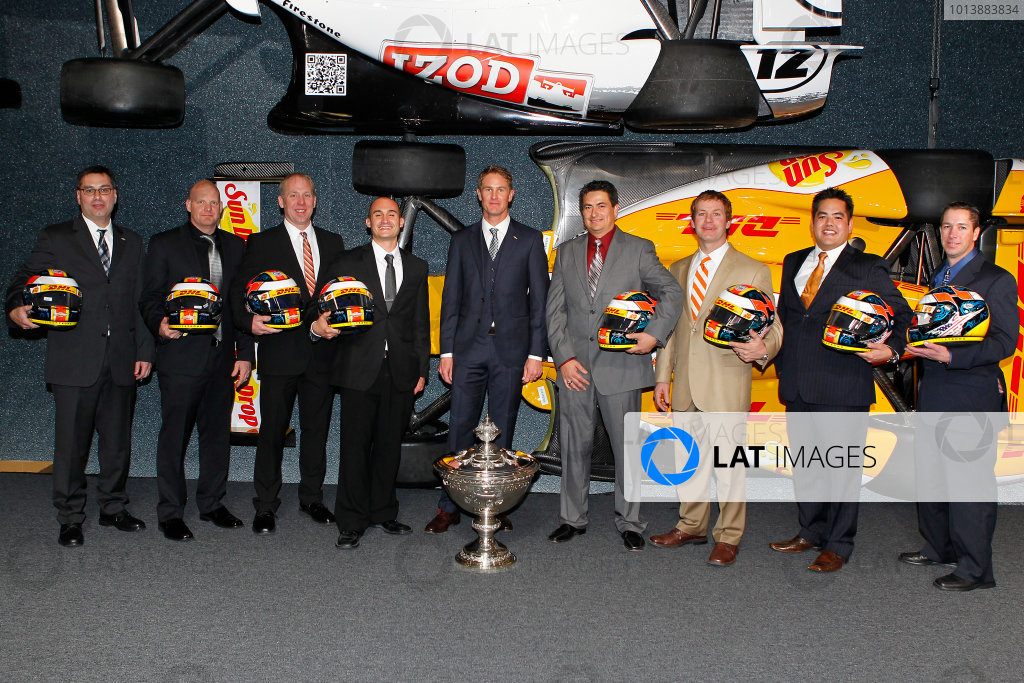 2012 IndyCar Series awards banquet