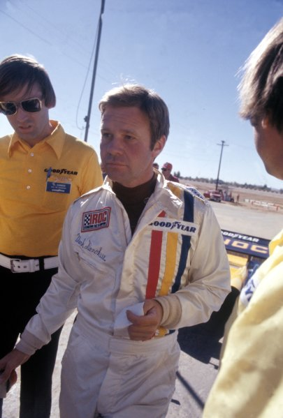 1974 IROC Series.Daytona, Florida, USA. February 1974.Mark Donohue, portrait.World Copyright: Murenbeeld/LAT Photographic.ref: 35mm colour transparency.