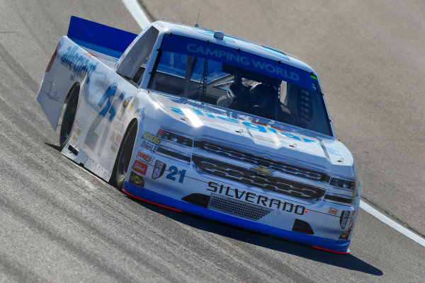 NASCAR Camping World Truck Series Las Vegas 350 Las Vegas Motor Speedway, Las Vegas, NV USA Saturday 30 September 2017 Johnny Sauter, Allegiant Travel Chevrolet Silverado World Copyright: Russell LaBounty LAT Images