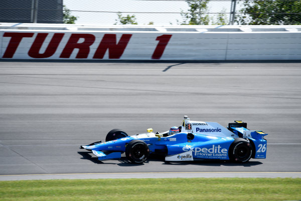 Verizon IndyCar Series ABC Supply 500 Pocono Raceway, Long Pond, PA USA Monday 21 August 2017 Takuma Sato, Andretti Autosport Honda World Copyright: Gregg Feistman LAT Images