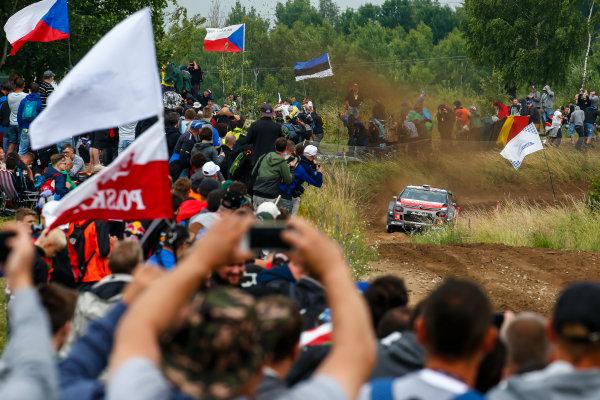 2017 FIA World Rally Championship, Round 08, Rally Poland / June 29 - July 2 2017, Stephane Lefebvre, Citroen, action, Worldwide Copyright: McKlein/LAT