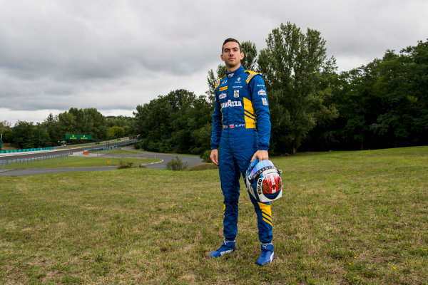 2017 FIA Formula 2 Round 7. Hungaroring, Budapest, Hungary. Thursday 27 July 2017. Nicholas Latifi (CAN, DAMS).  Photo: Zak Mauger/FIA Formula 2. ref: Digital Image _56I0192