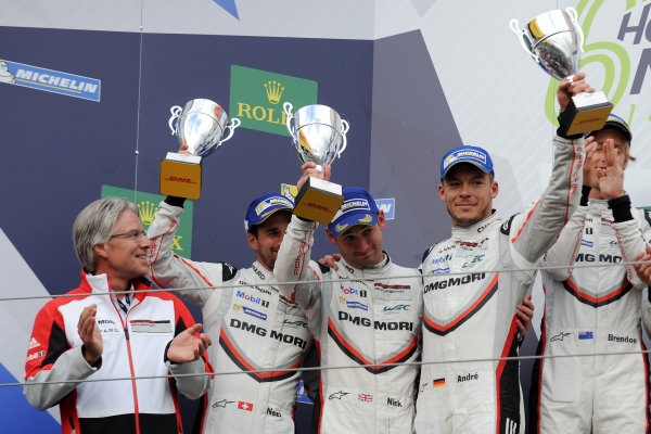 2017 World Endurance Championship, Nurburgring, Germany. 14th-16th July 2017 #1 Porsche LMP Team Porsche 919 Hybrid: Neel Jani, Andre Lotterer, Nick Tandy  World copyright. JEP/LAT Images