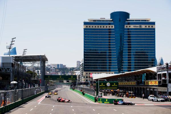 2017 FIA Formula 2 Round 4. Baku City Circuit, Baku, Azerbaijan. Saturday 24 June 2017.Artem Markelov (RUS, RUSSIAN TIME)  Photo: Zak Mauger/FIA Formula 2. ref: Digital Image _56I7560