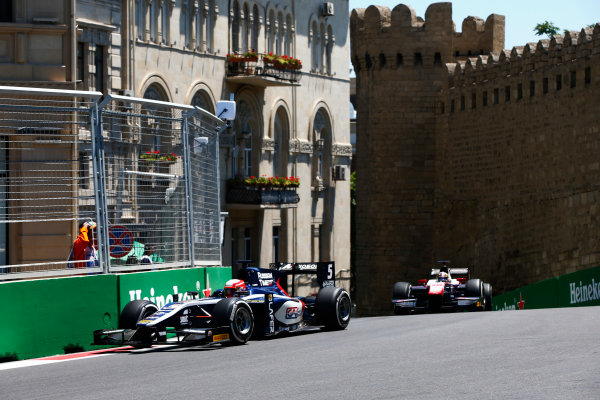 Baku City Circuit, Baku, Azerbaijan. Saturday 24 June 2017. Luca Ghiotto (ITA, RUSSIAN TIME)  World Copyright: Hone/LAT Images ref: Digital Image _ONY9637
