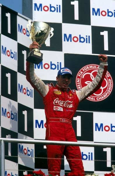 Justin Wilson (GBR) Nordic Racing finished second and led the championship.