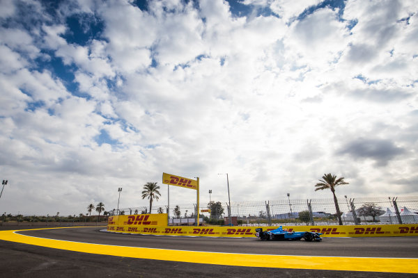2017/2018 FIA Formula E Championship.Test 02 - Marrakesh Rookie Test.Circuit International Automobile Moulay El Hassan, Marrakesh, Morocco.Sunday 14 January 2018.Mitsunori Takaboshi (JPN), Renault e.Dams, Renault Z.E 17. Photo: Sam Bloxham/LAT/Formula Eref: Digital Image _J6I2251