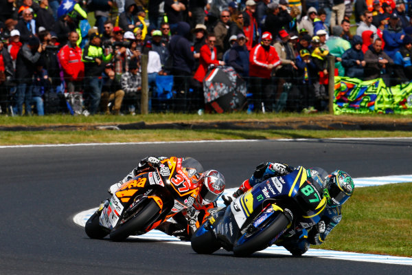 2017 Moto2 Championship - Round 16 Phillip Island, Australia. Sunday 22 October 2017 Remy Remy Gardner, Tech 3 Racing World Copyright: Gold and Goose / LAT Images ref: Digital Image 24764