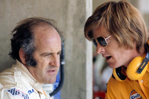 1973 Austrian Grand Prix.Osterreichring, Austria. 19 August 1973.Denny Hulme (McLaren).World Copyright: LAT Photographicref: 35mm Transparency Image