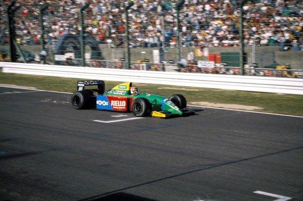 Nelson Piquet, Benetton B190 Ford.