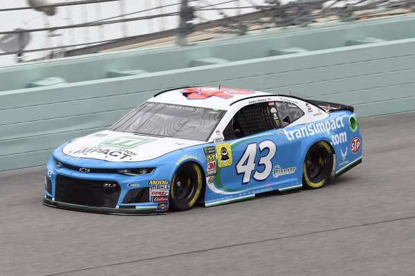 #43: Darrell Wallace Jr., Richard Petty Motorsports, Chevrolet Camaro Transportation Im