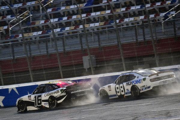 #16: A.J. Allmendinger, Kaulig Racing, Chevrolet Camaro Ellsworth Advisors and #98: Chase Briscoe, Stewart-Haas Racing, Ford Mustang Ford Performance Racing School