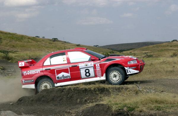 2001 World Rally Championship.Nairobi, Kenya. July 20-22, 2001Freddy Loix during shakedown.Photo: Ralph Hardwick/LAT