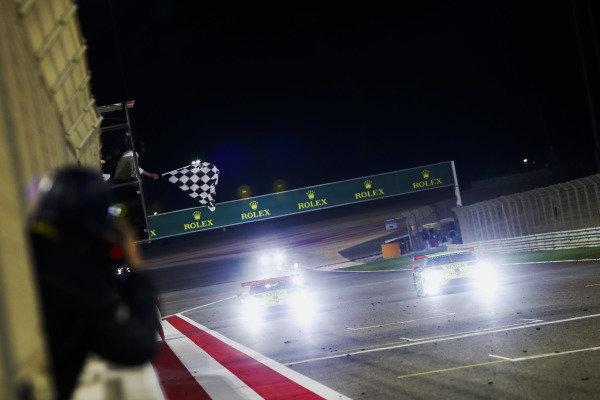 #95 Aston Martin Racing Aston Martin Vantage AMR: Marco Sorensen, Nicki Thiim and #97 Aston Martin Racing Aston Martin Vantage AMR: Maxime Martin, Richard Westbrook