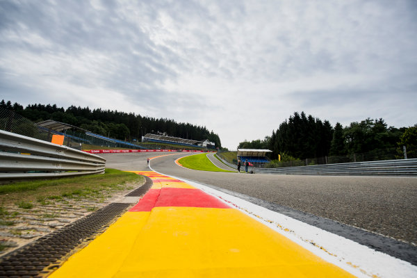 2017 FIA Formula 2 Round 8. Spa-Francorchamps, Spa, Belgium. Thursday 24 August 2017. A view of the track. Photo: Zak Mauger/FIA Formula 2. ref: Digital Image _54I9466