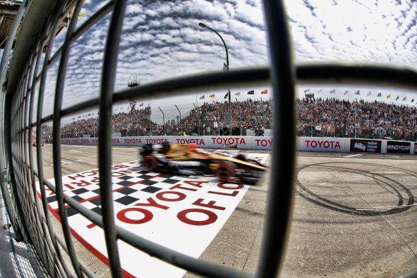 2017 Verizon IndyCar Series Toyota Grand Prix of Long Beach Streets of Long Beach, CA USA Sunday 9 April 2017 James Hinchcliffe World Copyright: Michael L. Levitt LAT Images