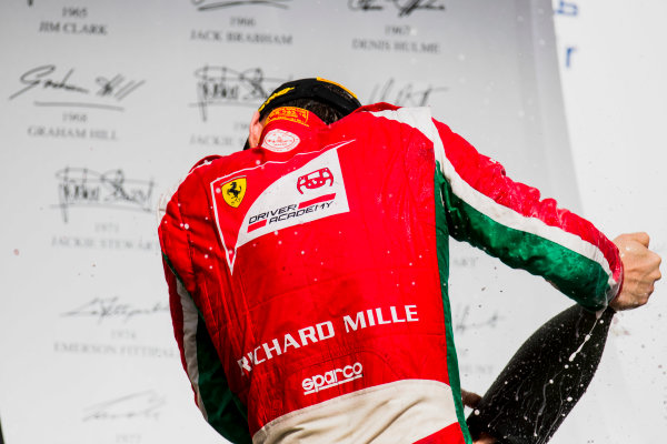 2017 FIA Formula 2 Round 1. Bahrain International Circuit, Sakhir, Bahrain.  Sunday 16 April 2017. Charles Leclerc (MCO, PREMA Racing)  Photo: Zak Mauger/FIA Formula 2. ref: Digital Image _56I2149