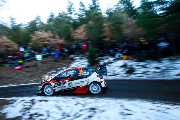 2017 FIA World Rally Championship,  Round 01, Rally Monte Carlo,  January 18-22, 2017,  Juho Hanninen/Kaj Lindstrom (Toyota Yaris WRC) Worldwide Copyright: McKlein/LAT