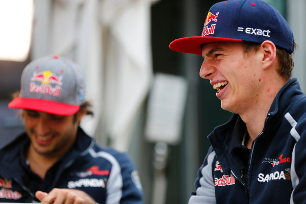 Sochi Autodrom, Sochi, Russia. Friday 29 April 2016. Max Verstappen, Toro Rosso. World Copyright: Andy Hone/LAT Photographic ref: Digital Image _ONZ7347