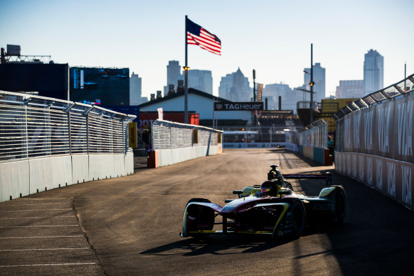 2016/2017 FIA Formula E Championship. Round 10 - New York City ePrix, Brooklyn, New York, USA. Sunday 16 July 2017. Daniel Abt (GER), ABT Schaeffler Audi Sport, Spark-Abt Sportsline, ABT Schaeffler FE02. Photo: Sam Bloxham/LAT/Formula E ref: Digital Image _J6I4170