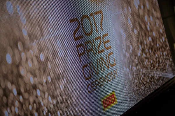 2017 Awards Evening. Yas Marina Circuit, Abu Dhabi, United Arab Emirates. Sunday 26 November 2017.  Photo: Sam Bloxham/FIA Formula 2/GP3 Series. ref: Digital Image _J6I2779