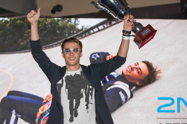 2017 Awards Evening. Yas Marina Circuit, Abu Dhabi, United Arab Emirates. Sunday 26 November 2017. Artem Markelov (RUS, RUSSIAN TIME).  Photo: Zak Mauger/FIA Formula 2/GP3 Series. ref: Digital Image _56I3731
