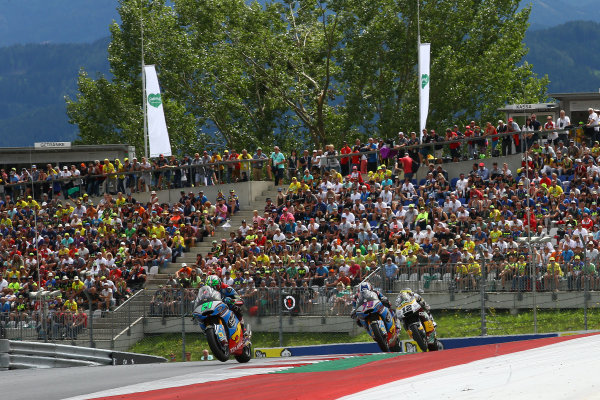 2017 Moto2 Championship - Round 11 Spielberg, Austria Sunday 13 August 2017 Franco Morbidelli, Marc VDS World Copyright: Gold and Goose / LAT Images ref: Digital Image 687120