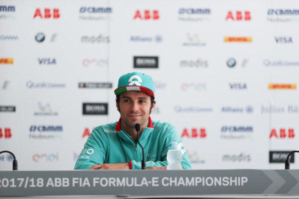 Luca Filippi (ITA), NIO Formula E Team, NextEV NIO Sport 003, in the press conference.