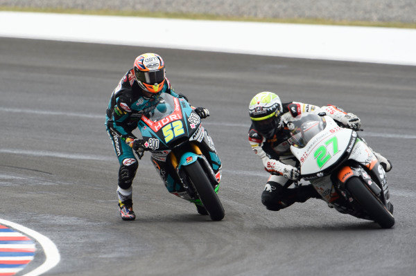Danny Kent, Speed Up Racing almost crashing