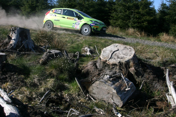 Pirelli International Rally. Carlisle, 30th April 2011.Molly Taylor/Rebecca Smart - Ford Fiesta.World Copyright: Ebrey/LAT Photographic.