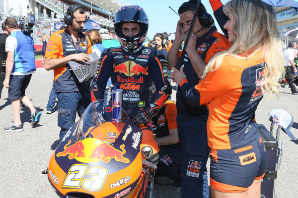 2017 Moto3 Championship - Round 3 Circuit of the Americas, Austin, Texas, USA Sunday 23 April 2017 Niccolo Antonelli, Red Bull KTM Ajo World Copyright: Gold and Goose Photography/LAT Images ref: Digital Image Moto3-Pre-500-2699