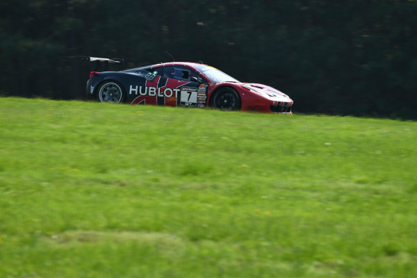 Pirelli World Challenge Grand Prix of VIR Virginia International Raceway, Alton, VA USA Saturday 29 April 2017 Martin Fuentes/Stefan Johansson World Copyright: Richard Dole/LAT Images ref: Digital Image RD_PWCVIR_17_238