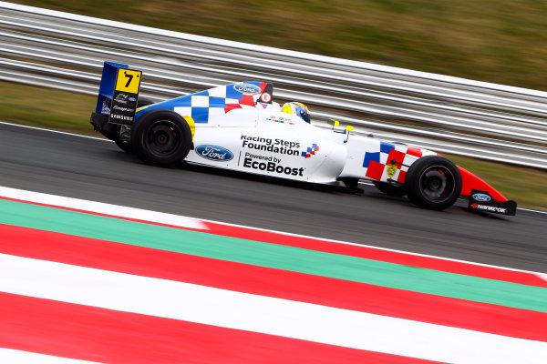 2016 British Formula 4 Championship, Snetterton, Norfolk. 29th - 31st July 2016. Alex Quinn (GBR) Fortec Ford British F4. World Copyright: Ebrey / LAT Photographic.