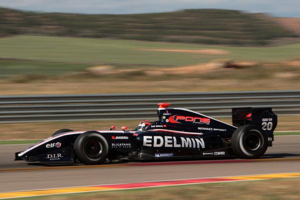 ALCANIZ (ESP) MAY 4-6 2012 -  First Round of the Formula Renault 3 5 Series 2012 at Motorland Aragon. Zoel Amberg #20 Pons Racing. Action. © 2012 Sebastiaan Rozendaal / LAT Photographic