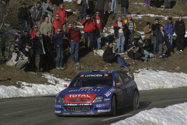 2006 FIA World Rally Champs. Round One, Monte Carlo Rally.19th - 22nd January 2006.Sebastien Loeb, Citroen, Action.World Copyright: McKlein/LAT