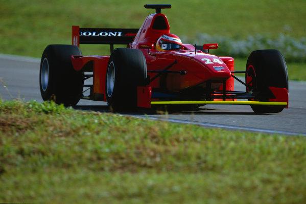 2002 FIA F3000 ChampionshipInterlagos, Brazil. 29th - 30th March 2002.Enrico Toccacelo (Coloni F3000), 6th position.World Copyright: Lorenzo Bellanca/LAT Photographicref: 35mm Image A06