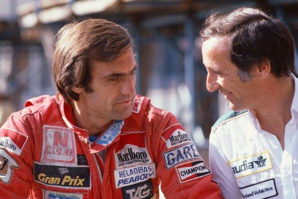 1981 Monaco Grand Prix. Monte Carlo, Monaco. 29-31 May 1981. Carlos Reutemann (Williams Ford). Ref-81MON07. World Copyright - LAT Photographic