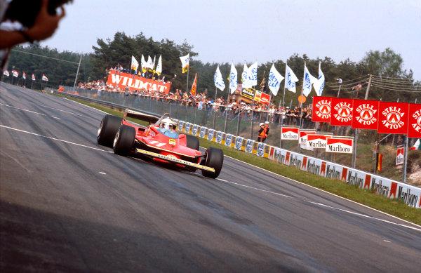 1979 Belgian Grand Prix.Zolder, Belgium.11-13 May 1979.Jody Scheckter (Ferrari 312T4) 1st position.Ref-79 BEL 05.World Copyright - LAT Photographic