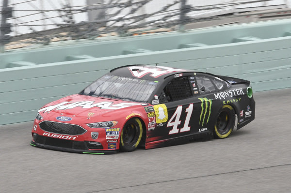 #41: Kurt Busch, Stewart-Haas Racing, Ford Fusion State Haas Automation/Monster Energy