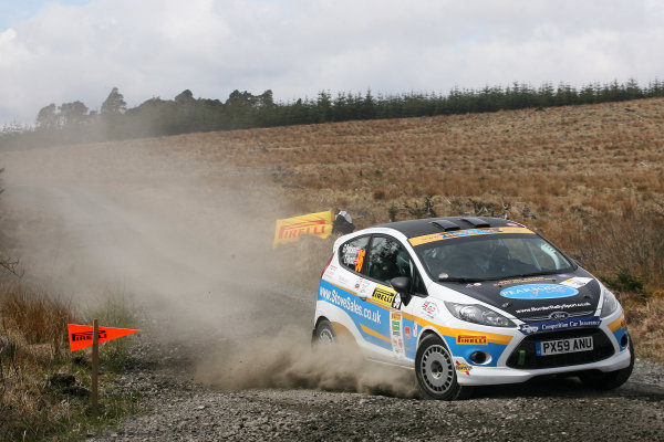 2013 MSA British Rally Championship, Pirelli Richard Burns Foundation Rally, Carlisle. 4th - 5th May 2013. Garry Pearson / Tom Hynd Ford Fiesta. World Copyright: Ebrey / LAT Photographic.