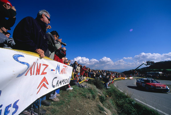 2003 World Rally Championship, Catalunya, Spain, Rd13. 23 - 26 October 2003.