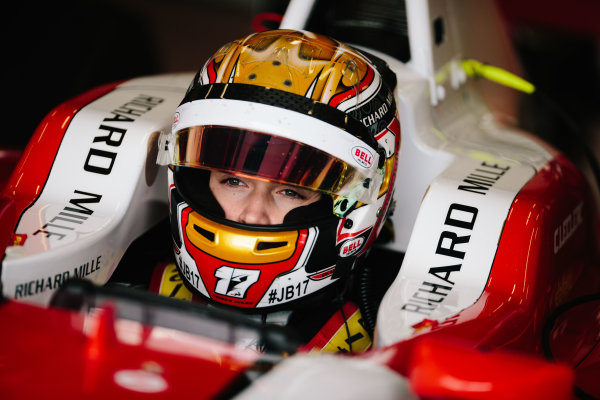 2016 GP3 Series Shakedown. Magny Cours, France. Thursday 3 March 2016  Charles Leclerc (MON) ART Grand Prix   World Copyright: Malcolm Griffiths/LAT Photographic. ref: Digital Image F80P9508