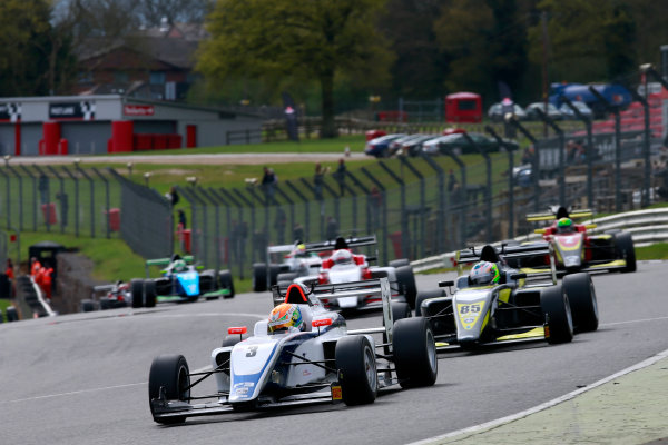 2016 BRDC British Formula 3 Championship, Brands Hatch, Kent. 16th - 17th April 2016. Ben Hingeley (GBR) HHC Motorsport BRDC F3. World Copyright: Ebrey / LAT Photographic.