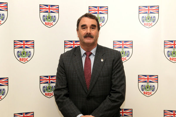 2015 British Racing Drivers Club Awards Grand Connaught Rooms, London Monday 7th December 2015 Nigel Mansell. World Copyright: Jakob Ebrey/LAT Photographic ref: Digital Image Mansell-01