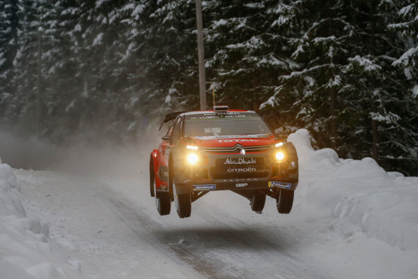 2018 FIA World Rally Championship, Round 02, Rally Sweden 2018, February 15-18, 2018. Chris Meeke, Citroen, Action Worldwide Copyright: McKlein/LAT